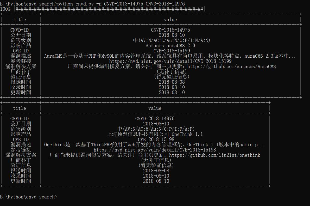Python脚本之CNVD按编号查详情