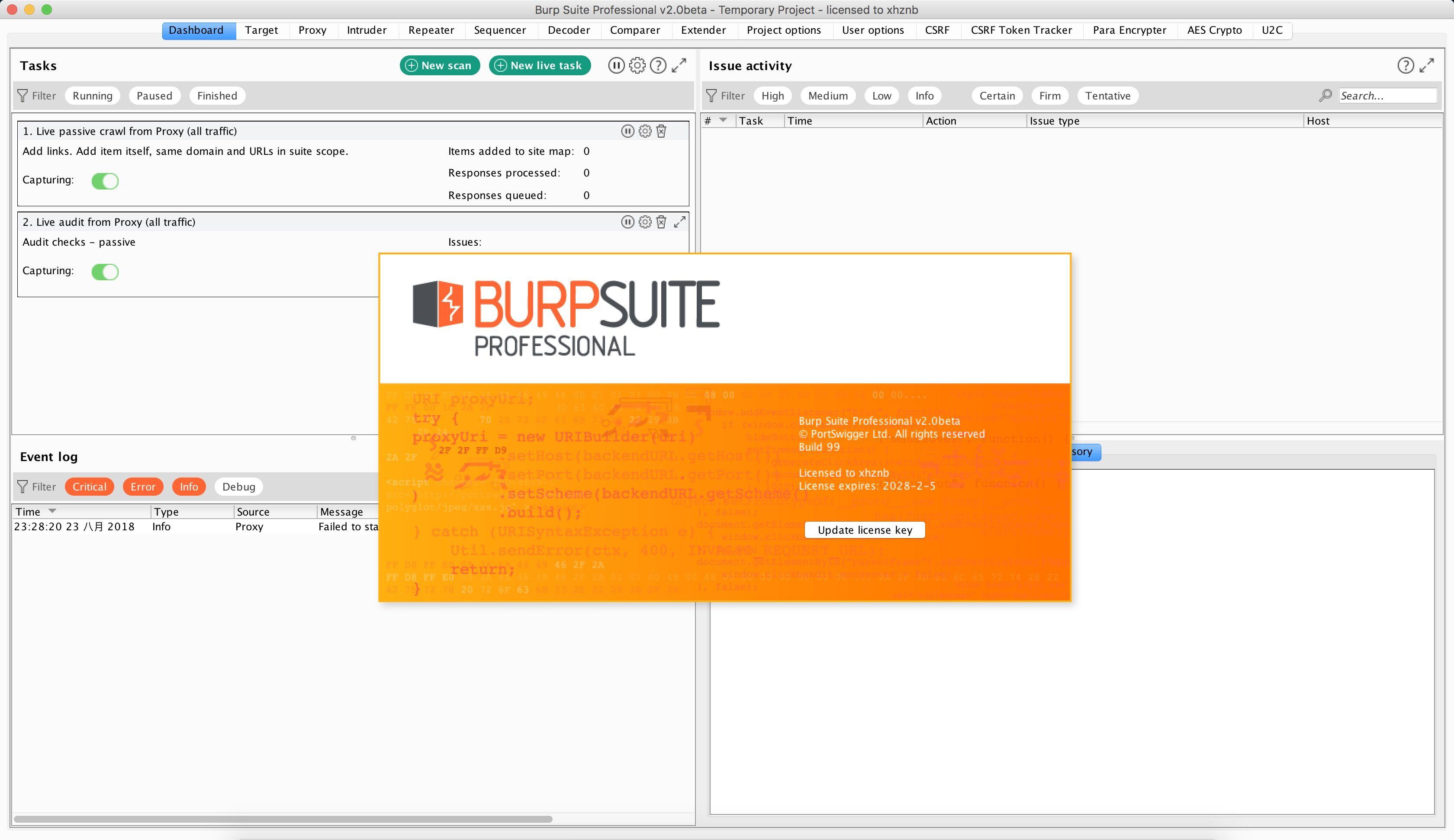 BurpSuite_Pro_v2.0beta抢先测试版