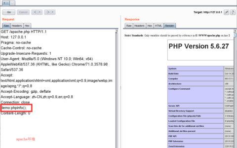 PHP利用Apache、Nginx的特性实现免杀Webshell